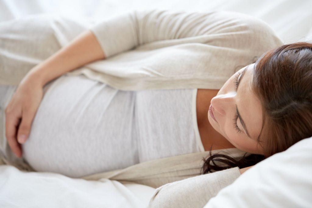sueño en el embarazo
