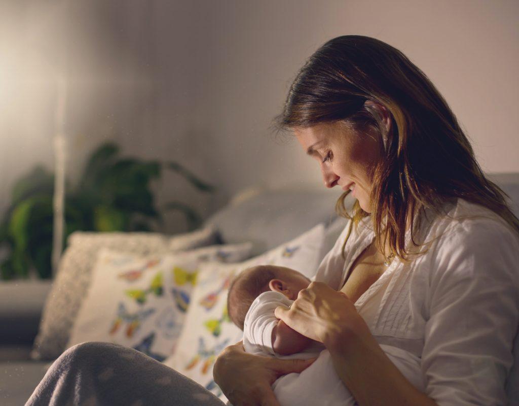 leche materna composición