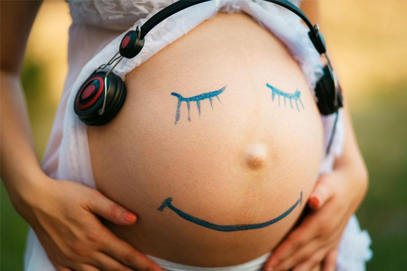 Beneficios de la música durante el embarazo