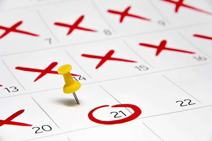 2 dias de retraso sin sintomas